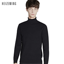 2016 Limited Autumn Turtleneck Wool Sweater Male Han Edition Cultivate One's Morality Men City Boy Render Unlined Upper Garment