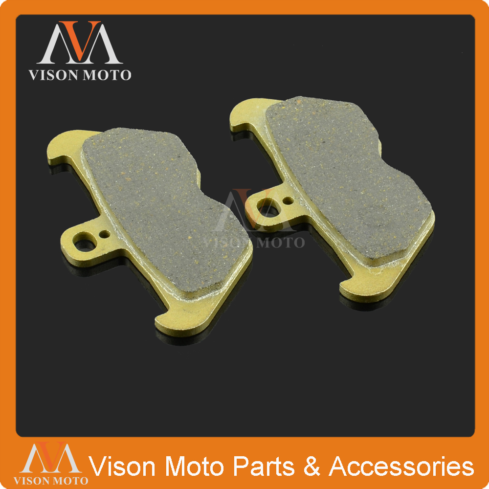 Motorcycle Front Caliper Brake Pads For BMW K100RS K1 K1100LT K1100RS K1200RS K1200LT R80 MYSTIC R R850C R850GS R850R R850RT image