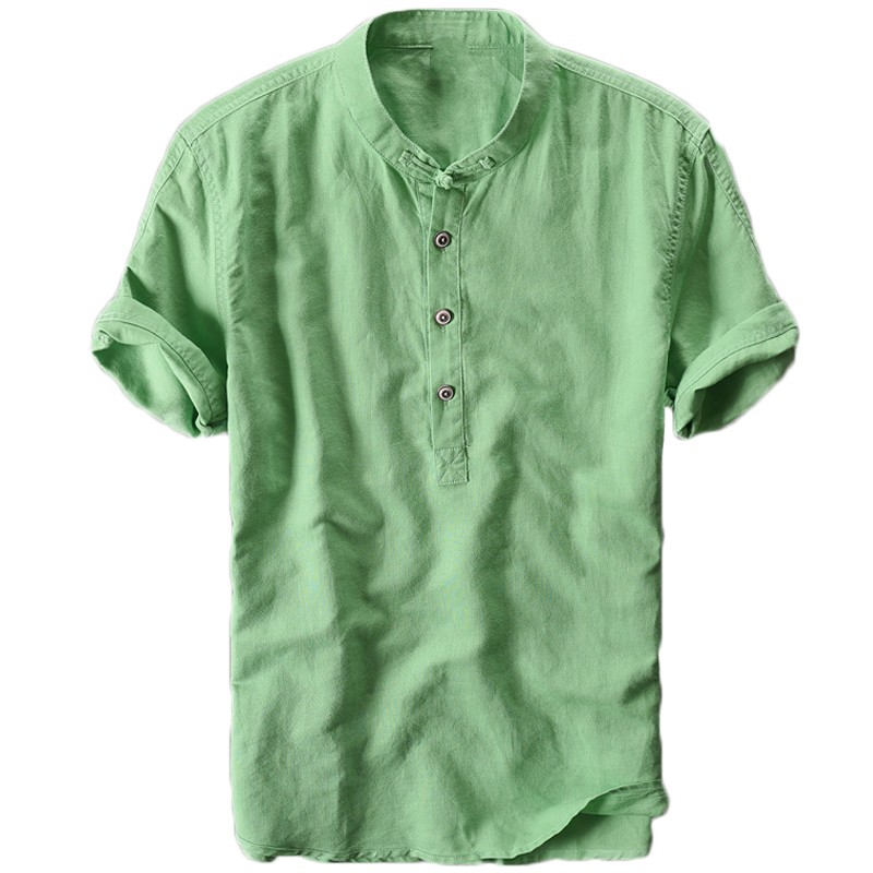 Freely Mens Short-Sleeve Pure Color Summer Slim Fit Round Neck Tee Shirt