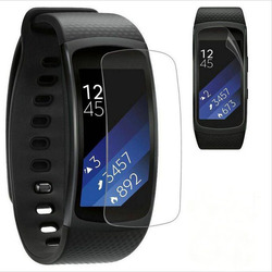 2pieces Anti-scratch Soft TPU Ultra HD Clear Protective Film Guard For Samsung Gear Fit 2 Fit2 R360 Full Screen Protector Cover