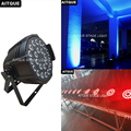 8 шт. Led dj par lighting 24x15w светодиодный par-прожектор RGBWA led par can light