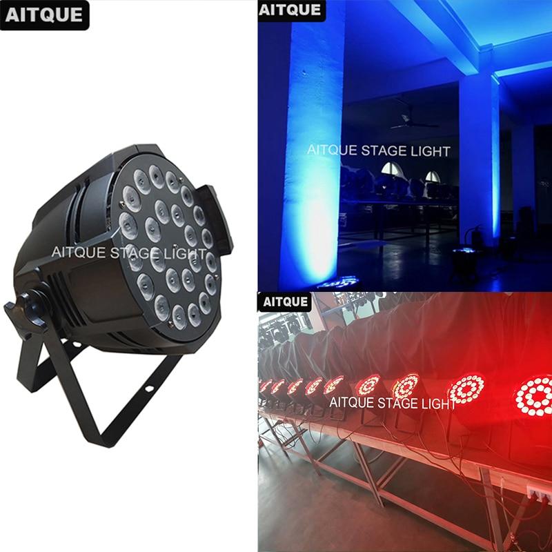 8pcs Led Dj Par Lighting 24x15w Par Led Rgbwa Led Par Can Light
