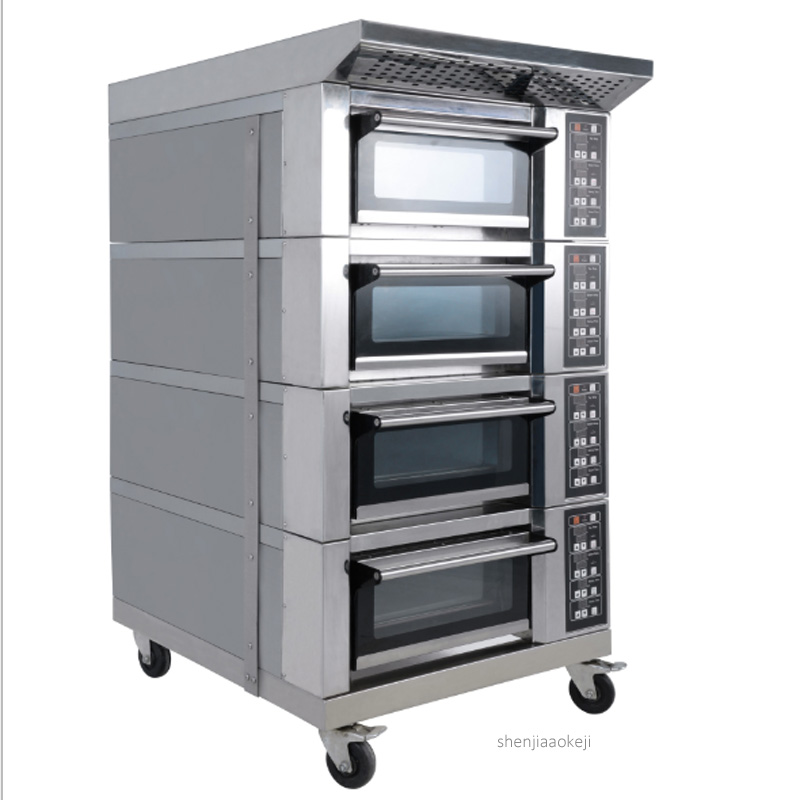 Commercial Electric Oven YXD-F9A Combined Type Multi-layer Baking Machine Computer Temperature Control Bread Roaster 220v 2.8kw