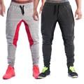 Мода 2016 Мужчины Длинные Брюки Хлопок мужская Гпбп Фитнес-Тренировки Лоскутное Случайные Штаны Брюки Узкие Брюки