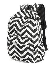Корейский стиль дизайнер полосатый молния холст рюкзак для девочек-подростков школьные сумки Большая Дорожная для ноутбуков Женские Рюкзаки Mochilas Женщины