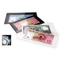 Neue Banknote hülse rechnung/banknote harte halter/währung papier geld schützen tasche 10 teile/los
