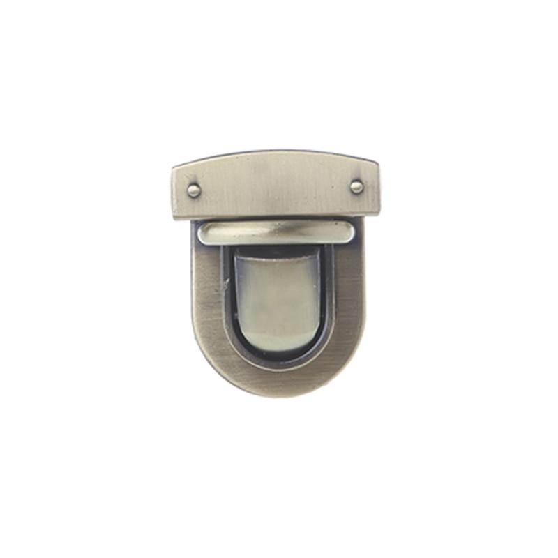 Metal Oval Shape Clasp Turn Lock Twist Lock for DIY Handbag Bag Purse Hardware Bags Accessories New