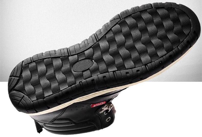 Großhandel Herren Stiefel Große Größe 39 47 Winter Gummistiefel Stiefel Schnürschuh Plüsch Warme Stiefeletten Schuhe Schwarze Männer Schuhe 8818m Von
