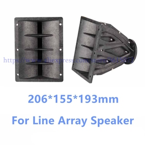 Image 1 - Tweeter Line Array Speaker Accessories Horn Flare Professional Audio For DJ Mixer Home Theater
