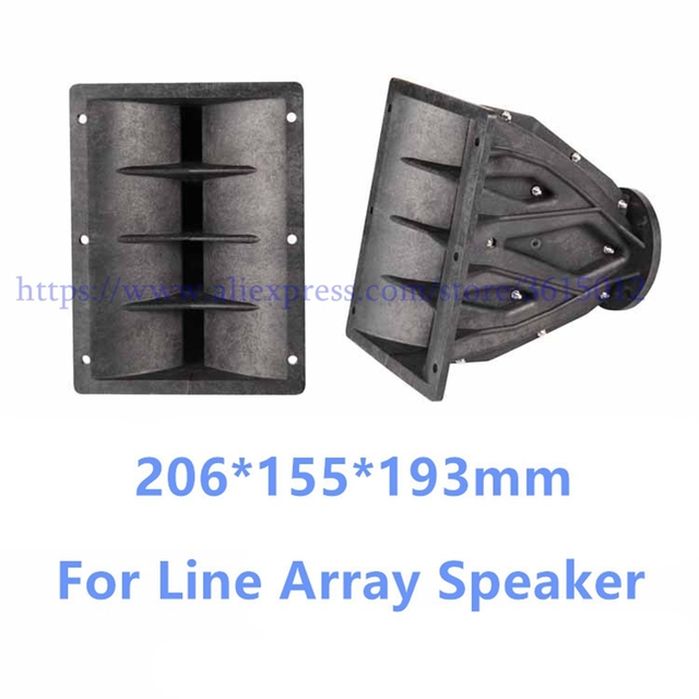 Tweeter Line Array Speaker Accessories Horn Flare Professional Audio For DJ Mixer Home Theater