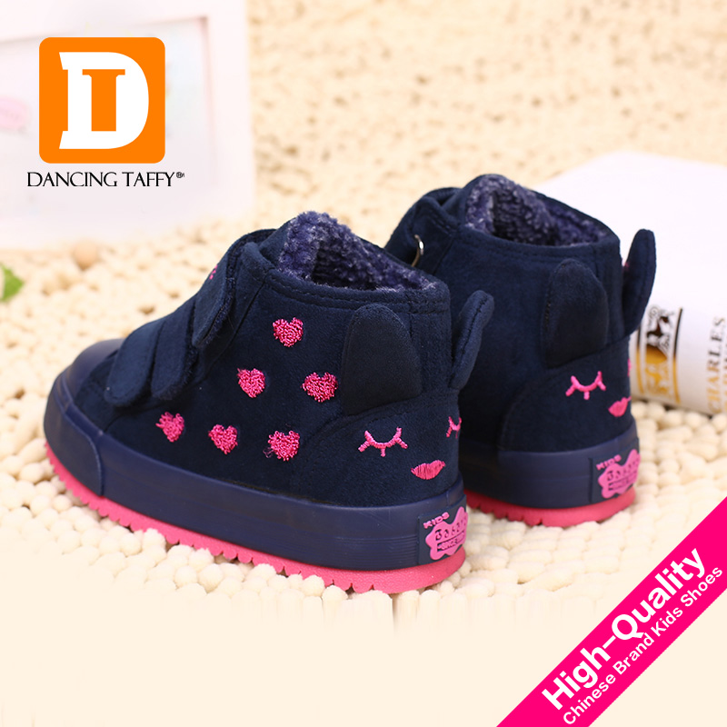 Winter-Rubber-Girls-Boots-New-4-Colors-Fashion-Warm-Children-Shoes-Girls-Flock-Leather-Plush-Platform-Flat-Sneakers-Kids-Boots-3
