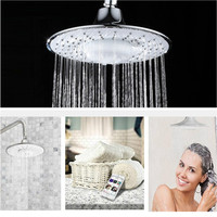Useful Multifunction Music Shower Top Spray Shower Head Built in Bluetooth Can Call Music Phone Hands Free Nozzle Bathroom Tool