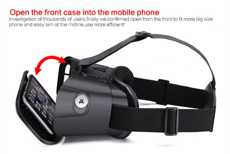 2016 New VR Self-Model Polarized Google Oculus Rift Cardboard Virtual Reality DK2 Gear 3D Glasses for 4.0-6.0 inch Smartphone (14)