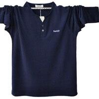 Plus Size Polo Shirt Men Fall Fashion V Neack Long Sleeve Polo Shirts Casual Polos Camisa Polo Masculina A1311