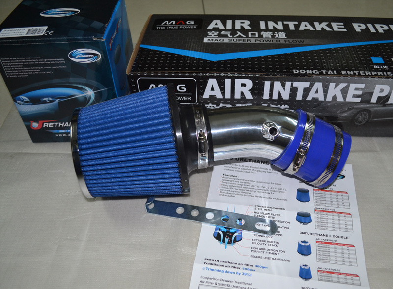 все цены на  AIR INTAKE KIT+1 Air FILTER for Ford classic FOCUS 1.8 2.0, AUTO Tuning, please contact with me for other car models  онлайн