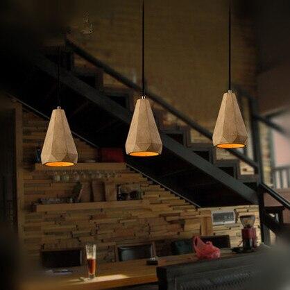 20CM Simple Edison Loft Industrial Vintage Pendant Lights For Bar Cafe Dinning Room Resin Hanging Lamp Lustre simple cm 379