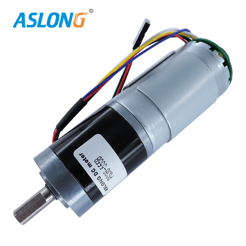 36MM High Torque Precision Planetary Gear Motor With encoder planetary Reducer box with 555 dc motor encoder metal gear box
