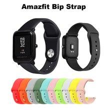 Silicone Soft Strap for Xiaomi Huami Amazfit Bip BIT Lite Youth Smart Watch Wrist Bracelet Watchband 20mm
