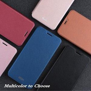 Image 5 - Étui à rabat dorigine MOFi pour Xiaomi A2 étui en polyuréthane thermoplastique pour Xiomi Mi A2 cuir PU pour xiaomi 6X Silicone