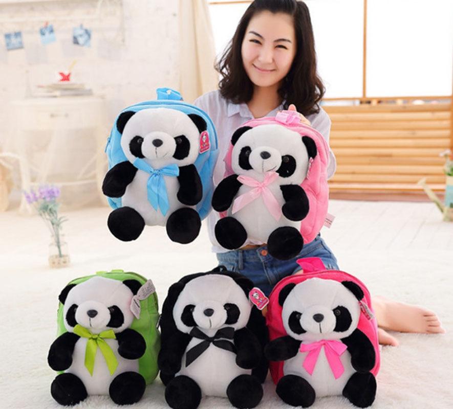 Childrens School Bags Cute Panda Toddler Backpack Cartoon Animals School Backapck for Kindergarten Girls Boys mochila