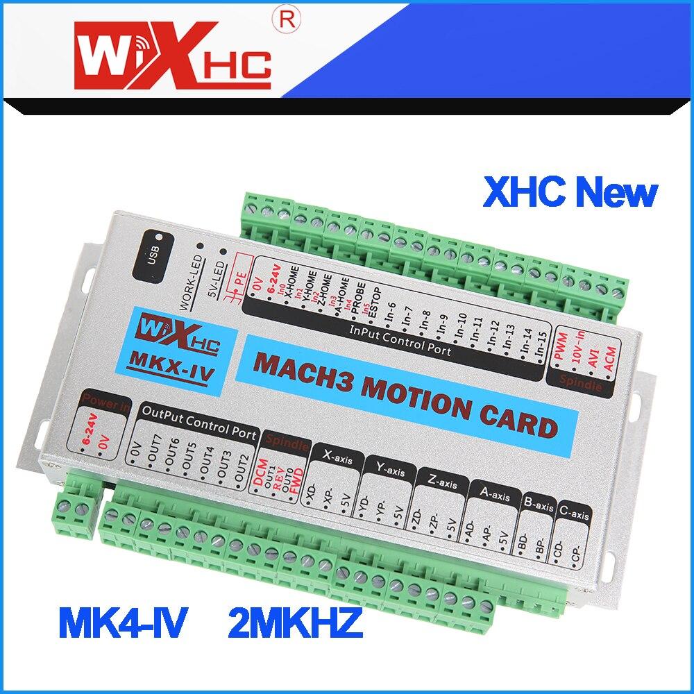 Cnc Motion Control Card Mach3 Used Usb Port Breakout Board