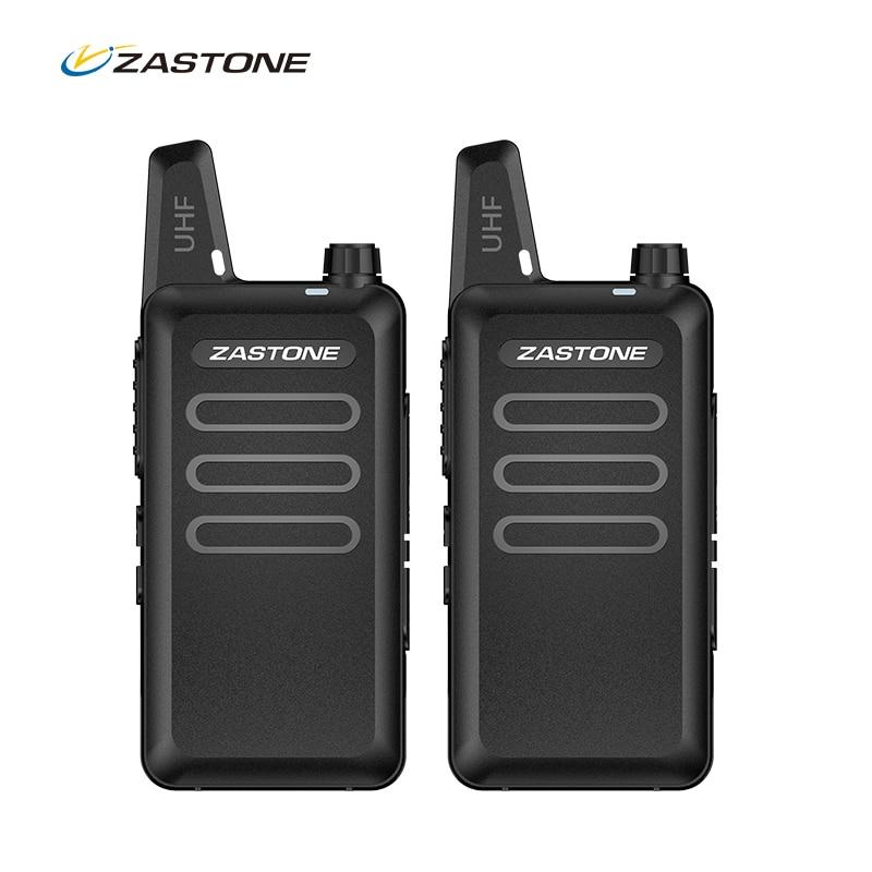 Zastone walkie talkie շարժական խոզապուխտ ռադիո UHF 400-470MHz մինի HF հաղորդիչ որսորդական ռադիոյի երկու ուղի ռադիոկապի համար