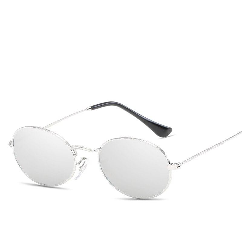 08fdcbeb7 Peekaboo pequeno oval óculos de sol tamanho pequeno homens negros do sexo  masculino rodada armação de metal óculos de sol para as mulheres espelho  uv400 em ...