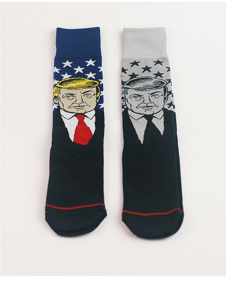4b4db905b59 Christmas Design Casual Knit Wool Socks High socks Trump Warm Winter Mens  Women Lowest Price-in Scary Costumes from Novelty   Special Use on  Aliexpress.com ...
