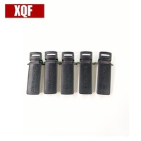 uv 5ra קליפ XQF חגורת 5pcs עבור Baofeng UV-5R UV-5RA UV-5RB UV-5RC UV-5RD UV-5RE שני הדרך רדיו (1)