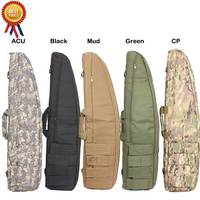Tactical Heavy Duty Gun Rifle Bag 120 cm 100cm Hunting Storage Carry Shoulder Bags Military Rifle Rest bag Finishing Holster