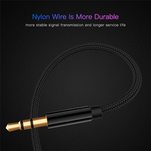 0.5m/1m/1.8m/3m/5m AUX Cable 3.5mm Audio Extension Cable Jack Male to Female Headphone Cable for Car Earphone Speaker