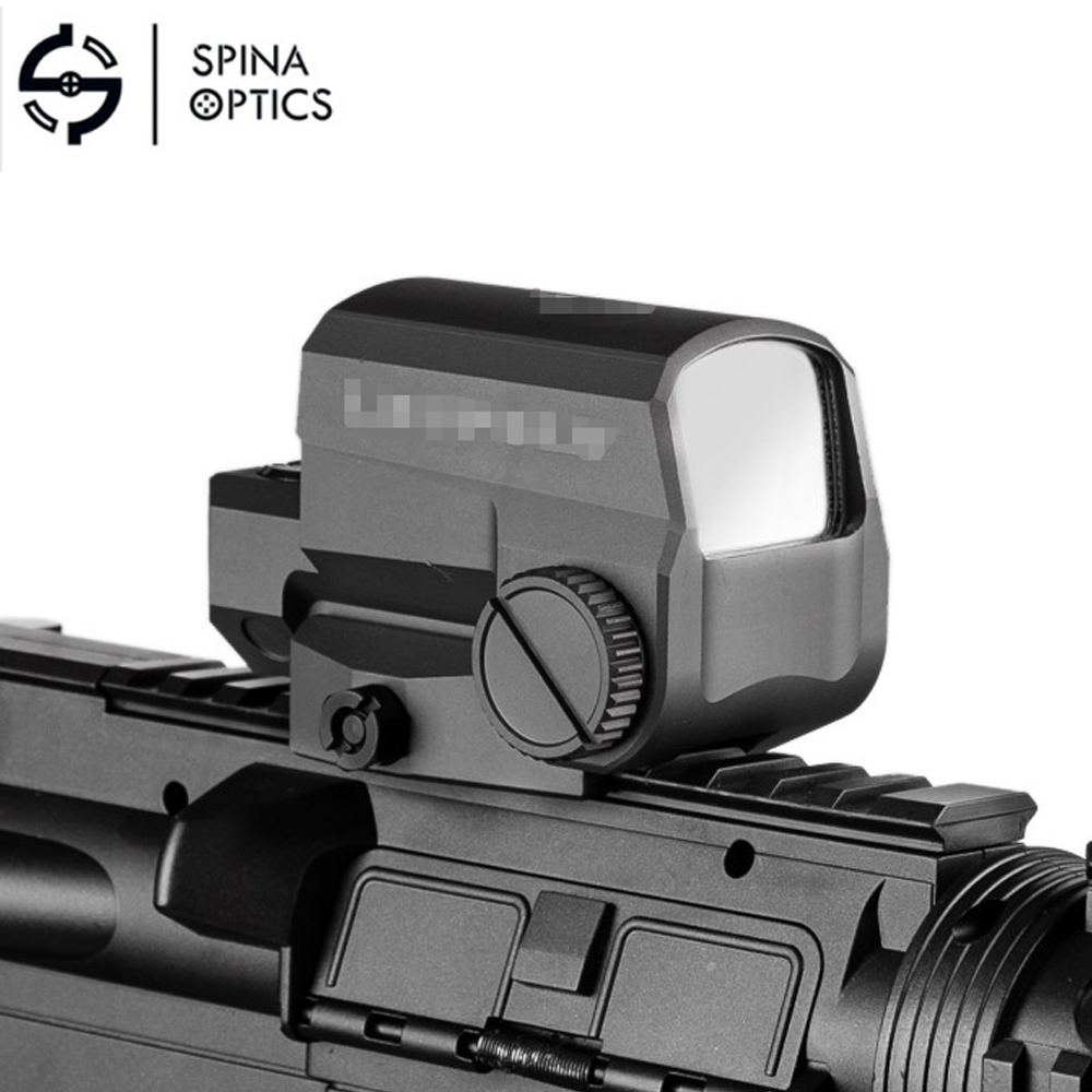 SPINA OPTICS2019 LCO Tactical Red Dot collimator sight Hunting Rifle Scope With 20mm Rail Mount Holographic