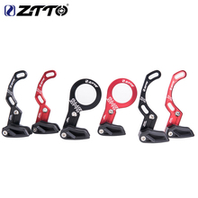 ZTTO 7075 CNC chain guide mountain bike 1X system ISCG 03 05 BB mount red / black