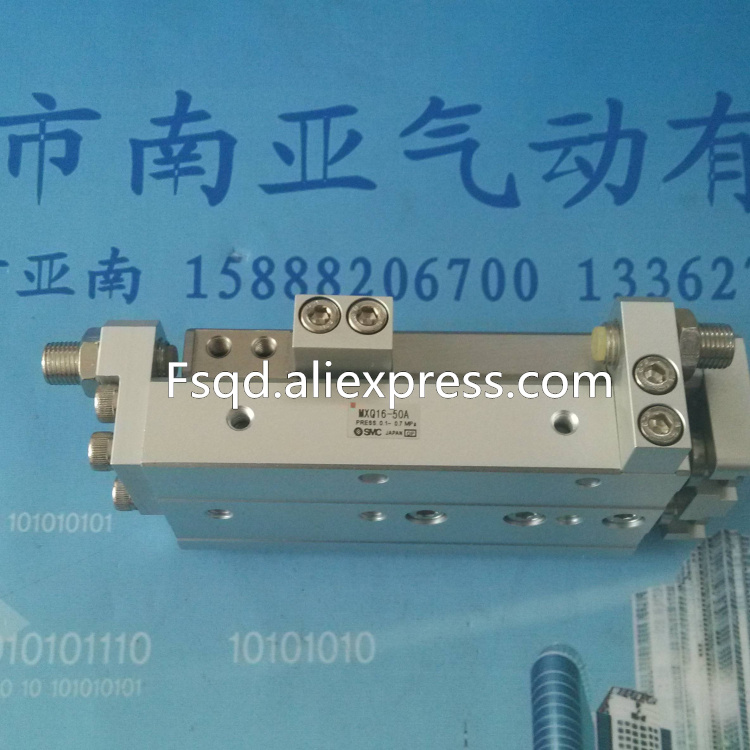 MXQ16-10BT MXQ16-20BT MXQ16-30BT MXQ16-40BT SMC air slide table cylinder pneumatic component MXQ series