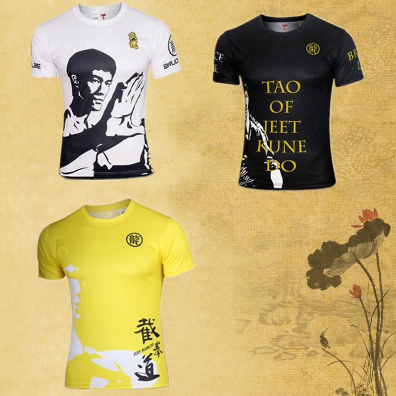 Jeet Kune Do Academy Kids Boys Martial Arts T-Shirt  Bruce Lee MMA Gym Kung Fu