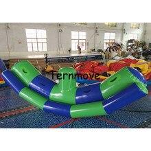 Надувные водные игры воды игрушки надувные водах качели ПВХ air tight ковылять для продажи flatables воды банан качели