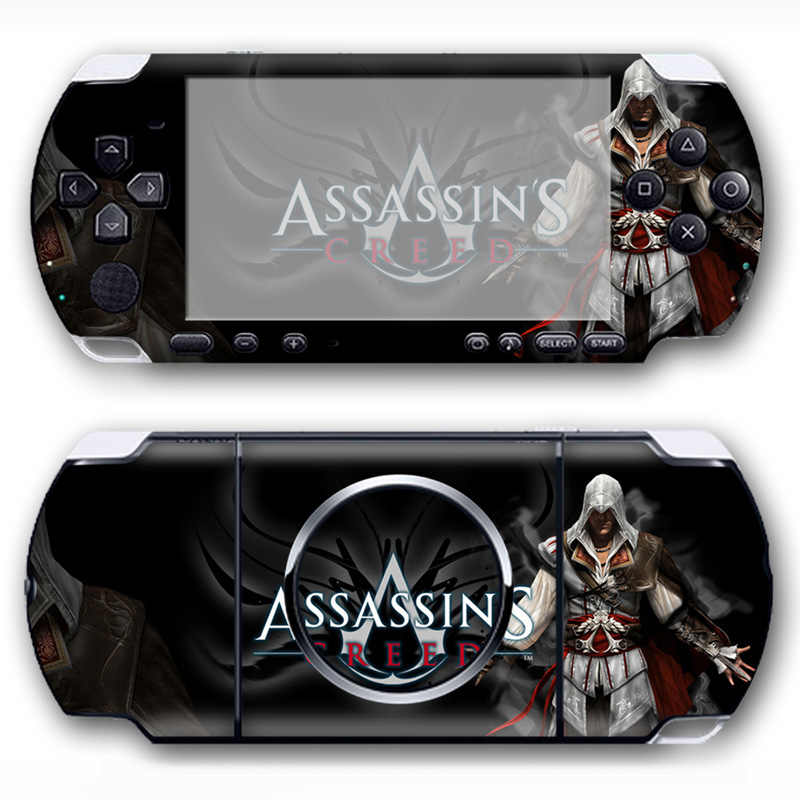 Popular game video PVC cover full body decals Vinyl Skin Sticker for PSP 3000 Console
