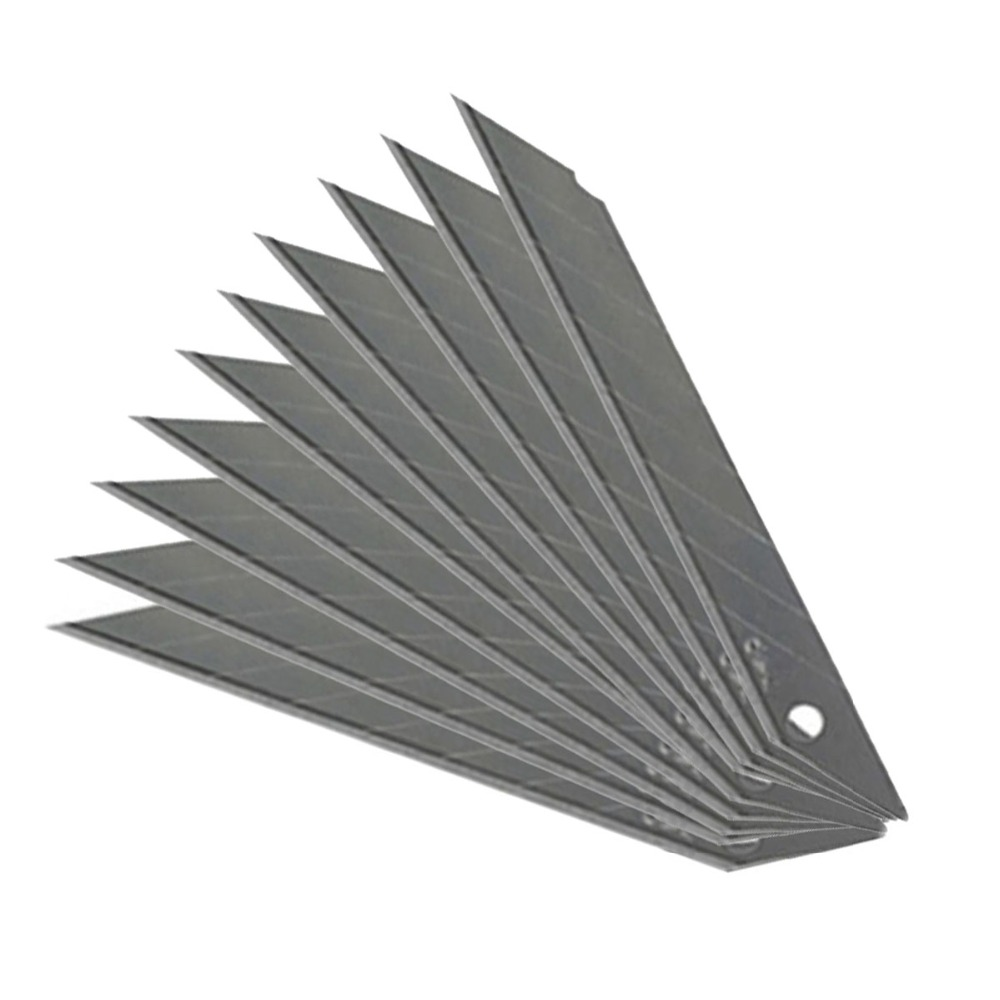50pcs Art Blades 30 Degree Trimmer Sculpture Office Alloy Steel Replaceable Paper Vinyl Sticker DIY Cutting Utility Knife 5E03 in Window Repair from Automobiles Motorcycles