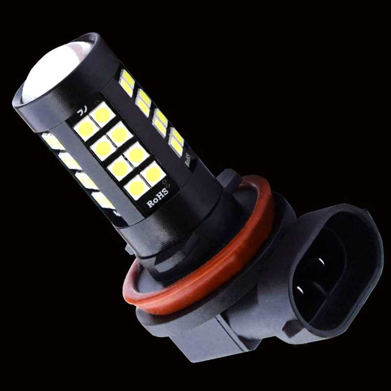 2PCS H8 H11 HB4 9006 LED Front Fog Lights 1800LM 6000K 43 SMD 3030 LED White Car Anti Fog Driving Lamp Auto Leds Bulb 12V 24V