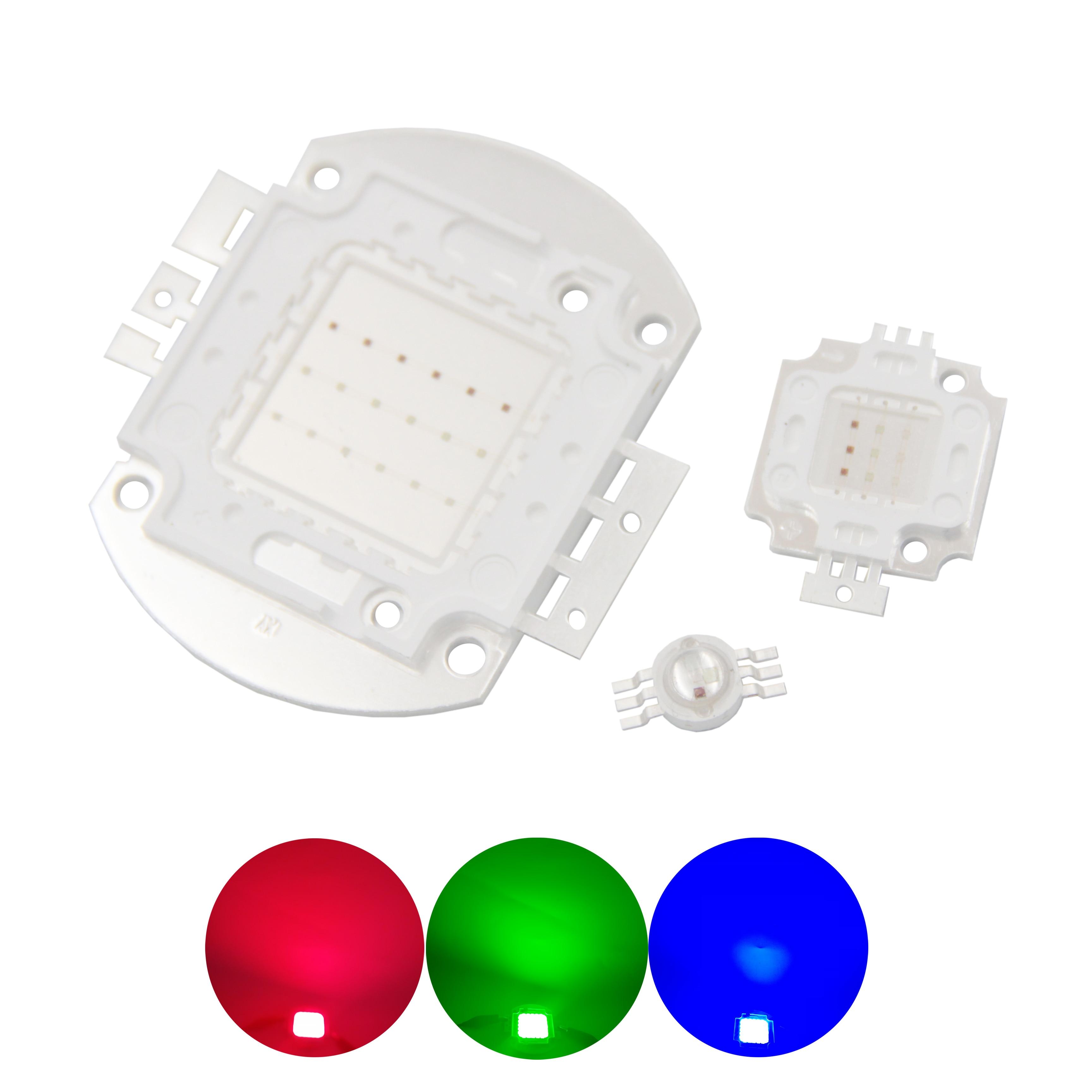 1Pcs 100W Watt High Power Blue 460-470nm SMD LED Chip COB Lamp Lights