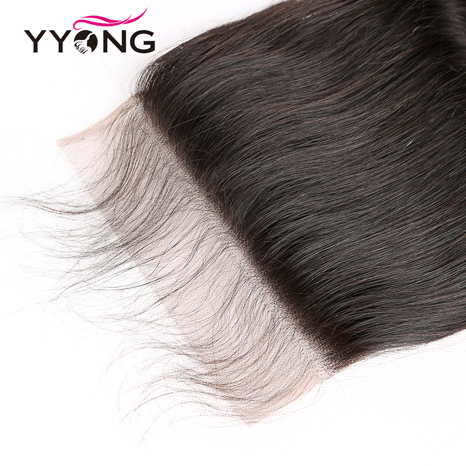 Yyong Hair 8x8 Lace Closure   Body Wave Closure 14-24 Inch Free Part 100%  Swiss Lace Closure 3