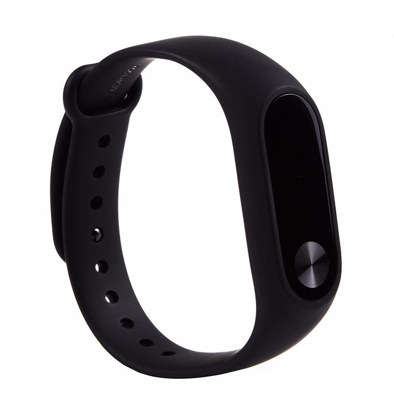 Oryginalny xiaomi mi kompania 2 miband bransoletka wistband inteligentnego tętno fitness ekran oled wyświetlacz dla iphone 7 touchpad bluetooth 13