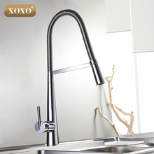 XOXO New arrival Brass torneira cozinha kitchen faucets hot and cold water chrome basin sink square cozinha taps mixers 83031C
