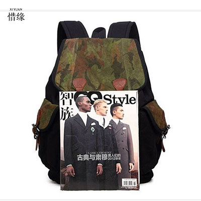 XI YUAN Backpack Men Preppy Style Camo School Backpacks for Boy Girl Teenagers High School Middle School Bags Large Capacity longmiao men oxford camouflage backpack preppy style camo school backpacks for teenagers uk flag large capacity travel bags