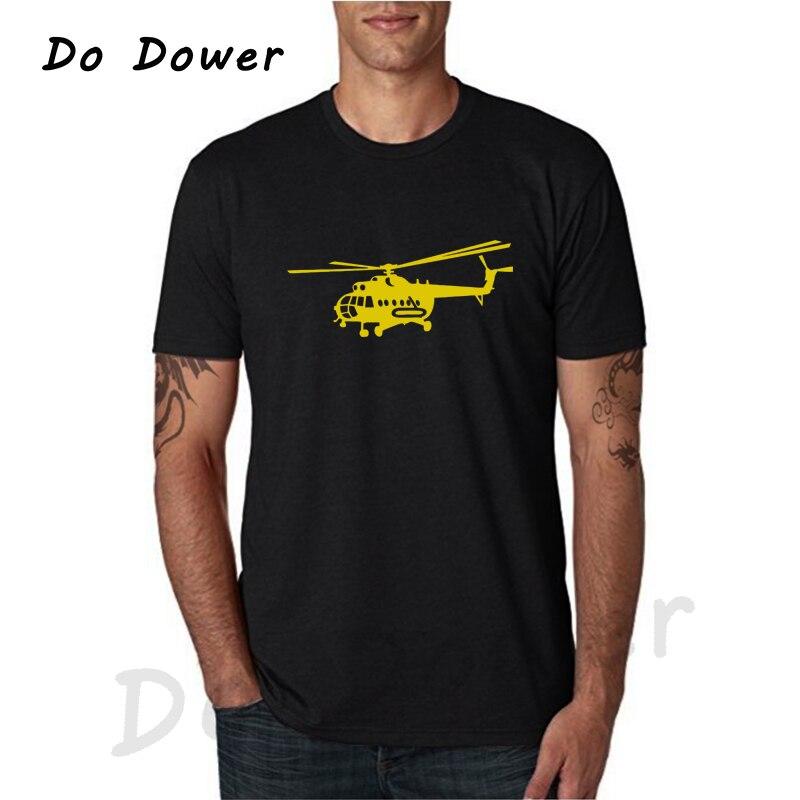 Helicopter USSR Victory Printed Funny T-shirts Harajuku Fashion Short Sleeve O-Neck Tops Tees Men Clothing Camisetas Masculina