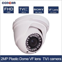 CCDCAM Plastic dome 1080P CCTV CVI security camera for security system