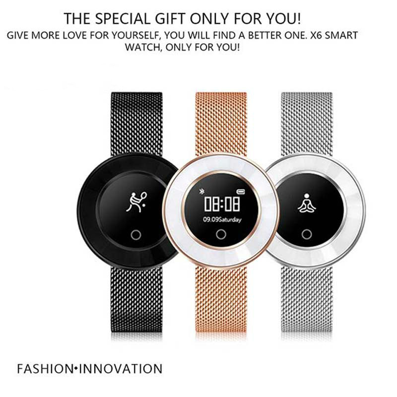 Smart Band lady Heart Rate Pedometer IP68 Waterproof Smart Bracelet Blood Pressure Monitor Wristband Bluetooth Smart Watch Women|Women's Watches| |  - title=