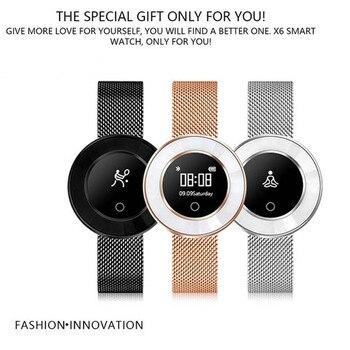 Smart Band lady Heart Rate Pedometer IP68 Waterproof Smart Bracelet Blood Pressure Monitor Wristband Bluetooth Smart Watch Women