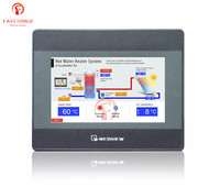Hmi 10 inch 800x480 tk6102i weinview novo com cabo de download do programa usb