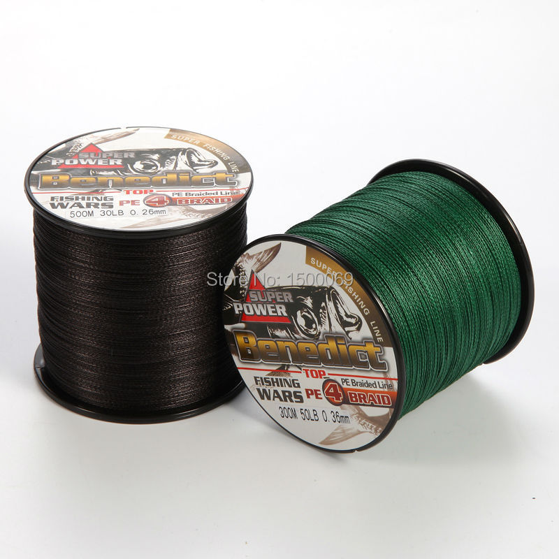 4strands 300M 500M black and green